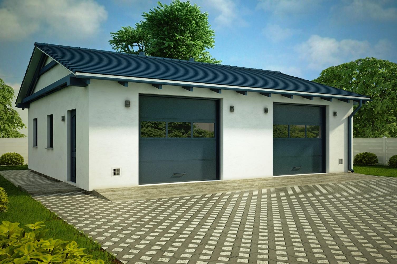 Строительство гаражей под ключ в Анапе